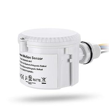 Amazon.com: leonlite Sensor de movimiento de microondas ...