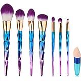 Pennelli Make Up,Cadrim Set di pennelli professionali per trucco trucchi,pennelli trucco con borsa