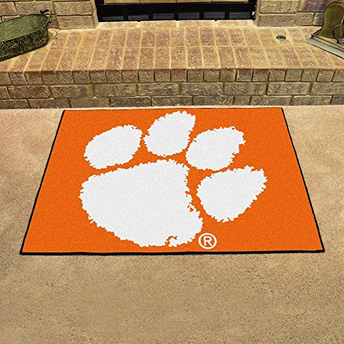Clemson tigers bath rugs price compare for Bathtub material comparison
