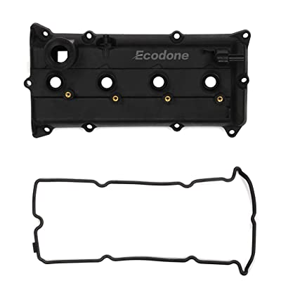 Ecodone Camshaft Engine Valve Cover & 2 Gaskets for 02-06 Nissan Altima Sentra 2.5L L4, PCV Cover Replace No.CNVG-D1252VC 13270-3Z000,13264-3Z001,264-982: Automotive