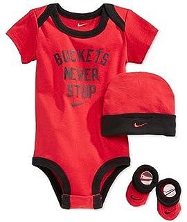 ec2d270d3908 Nike bébé garçon 3 pièces seaux n Arrêtez jamais de Body, Bonnet et  Chaussons