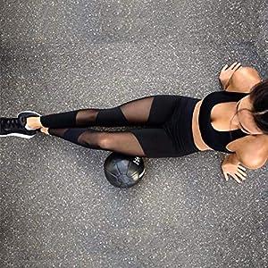 Ducomi LIV Leggings Trasparente per Donna – Look Sexy e Casual in Palestra e Fuori – Leggins Leggeri, Traspiranti e Massimo Comfort – Abbigliamento Activewear, Yoga, Pilates e Fitness