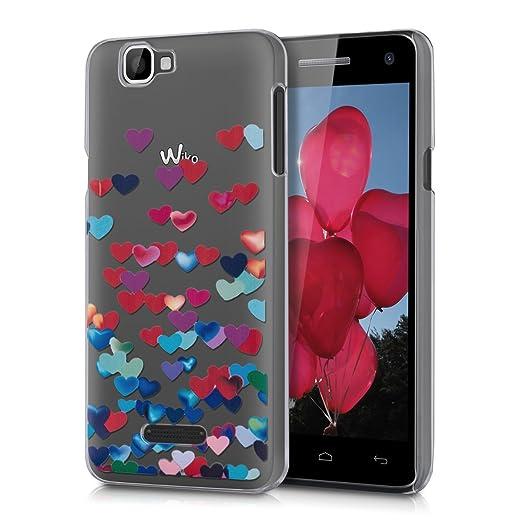 78 opinioni per kwmobile Cover per Wiko Rainbow 3G / 4G- Custodia trasparente per cellulare-