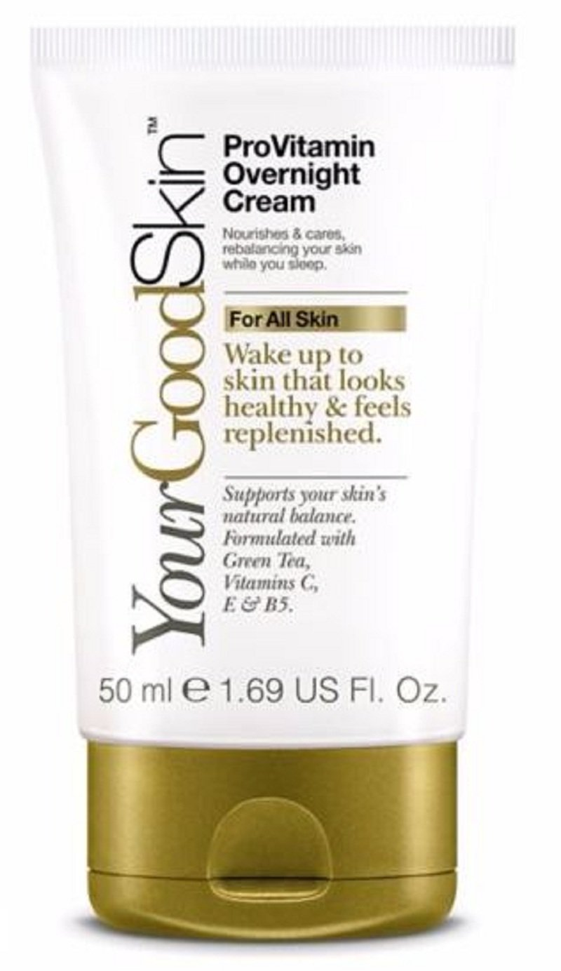YourGoodSkin ProVitamin Overnight Cream, Soft Skin, Real Smoth