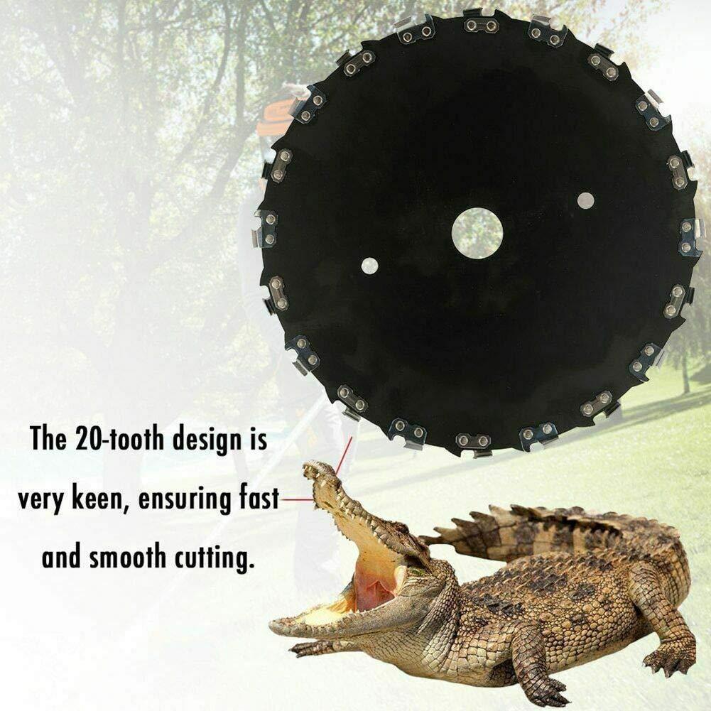 OFA 4-diente hierba cuchilla para hierba y maleza 230 mm x 1,4 mm