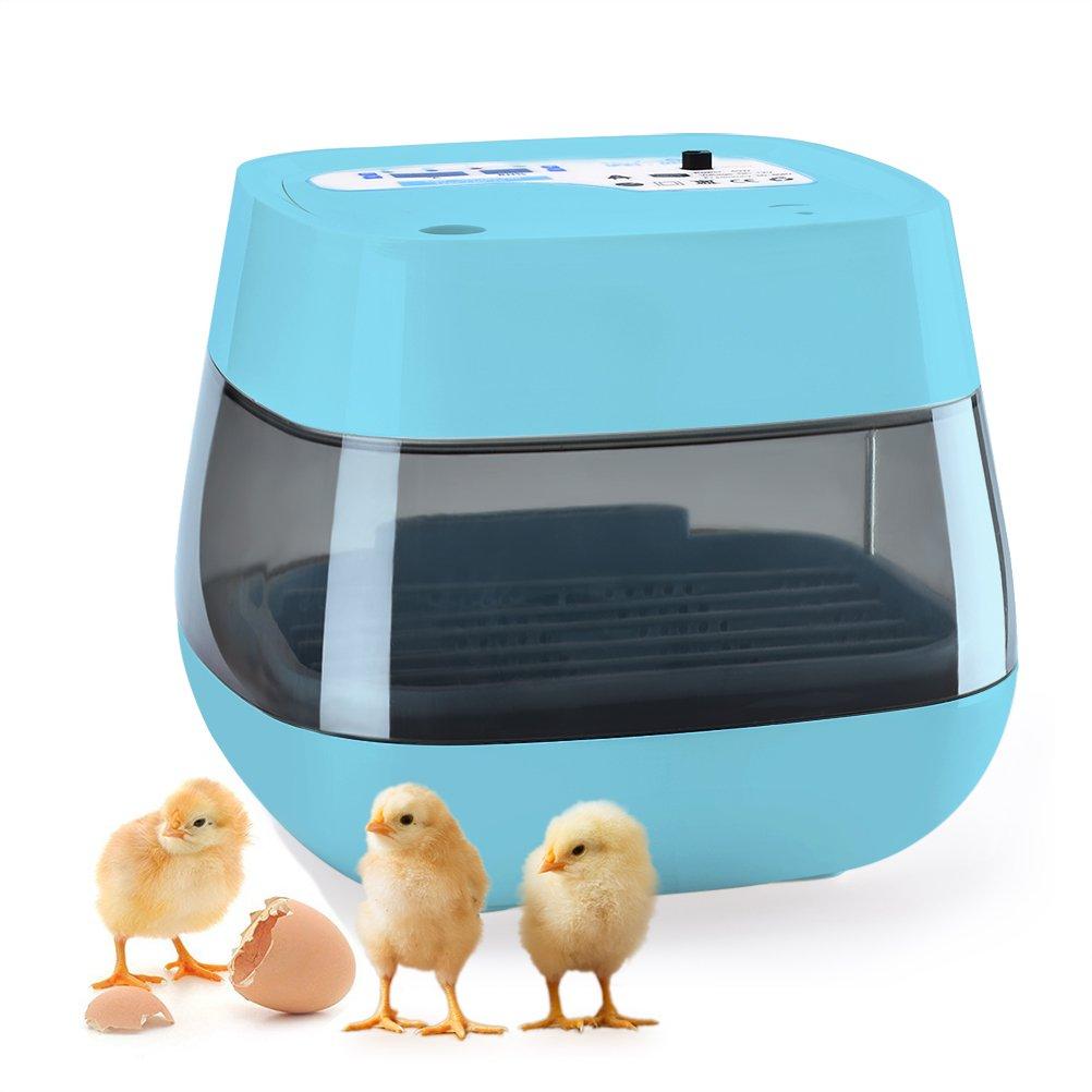 HOMAKER Egg Incubator, 9-16 Digital Fully Automatic