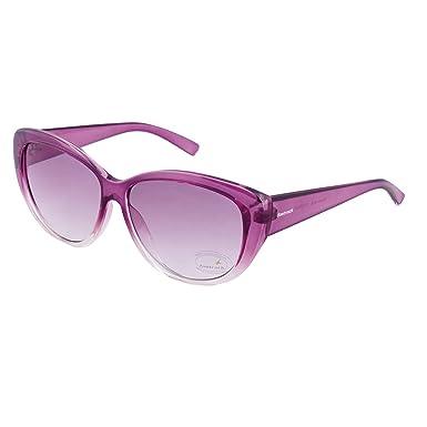 2a4287b73b FASTRACK Purple Cateye Sunglasses -P234PR2F  Amazon.in  Clothing    Accessories