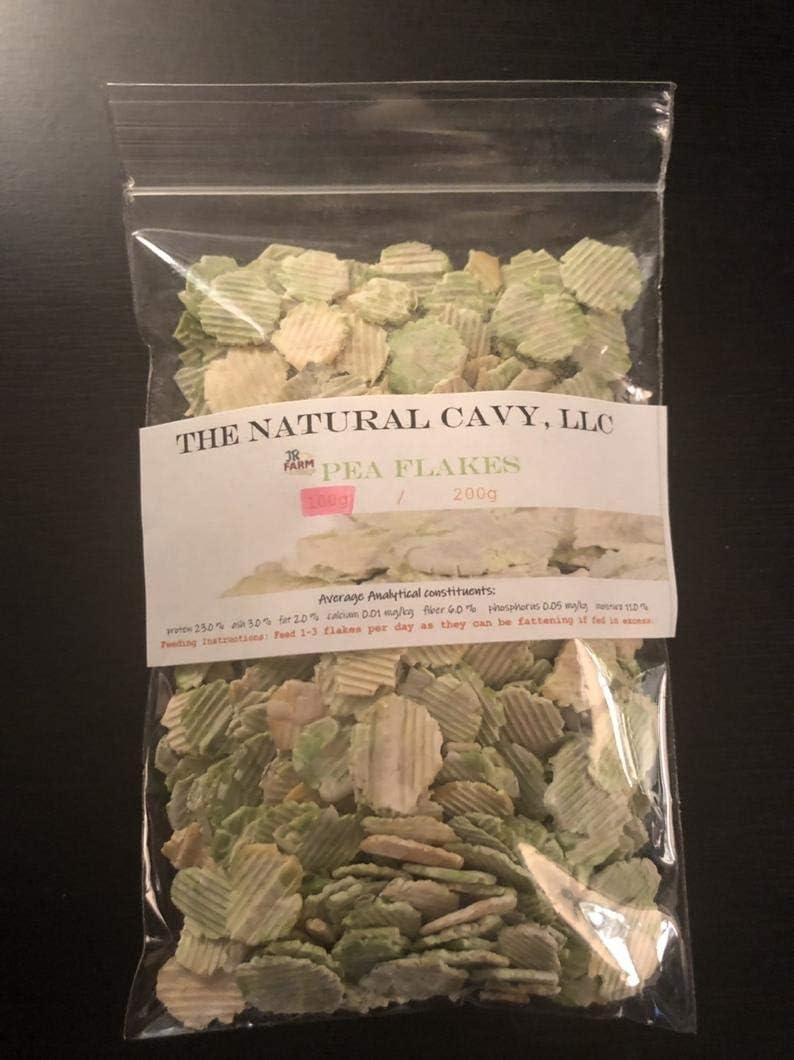 Amazon Com The Natural Cavy Llc Jr Farm Pea Flakes 100g Pet Supplies