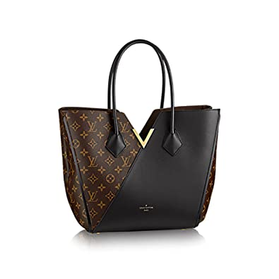 128c0c5039e8 Amazon.com  Authentic Louis Vuitton Kimono Tote Monogram Canvas Handbag  Article  M40460 Noir Made in France  Shoes