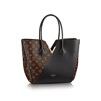 a60299528 Amazon.com: Authentic Louis Vuitton Kimono Tote Monogram Canvas Handbag  Article: M40460 Noir Made in France: Shoes