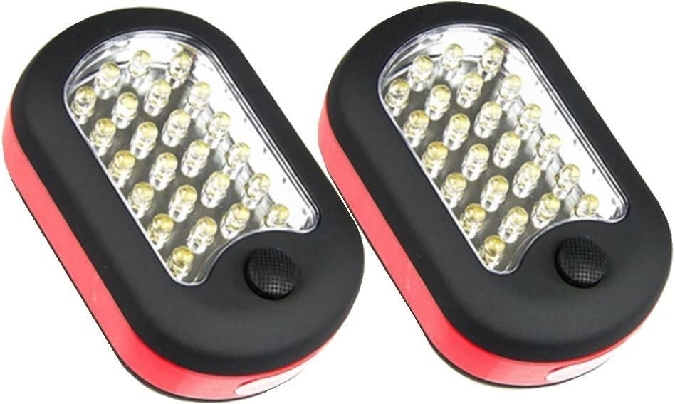 2 Pack 27-LED Ponvey Super Bright Led Work