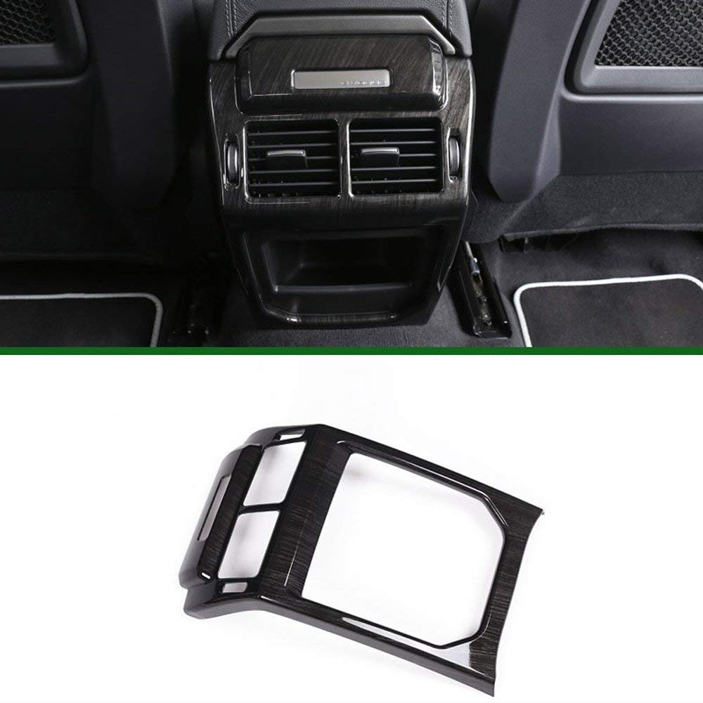 AUTO Pro for Land Rover Evoque 2012-2017 Rear Row Air Condition Vent Cover Frame Trim Stickers Car Interior Accessories Dark Ash Wood by AUTO Pro (Image #2)