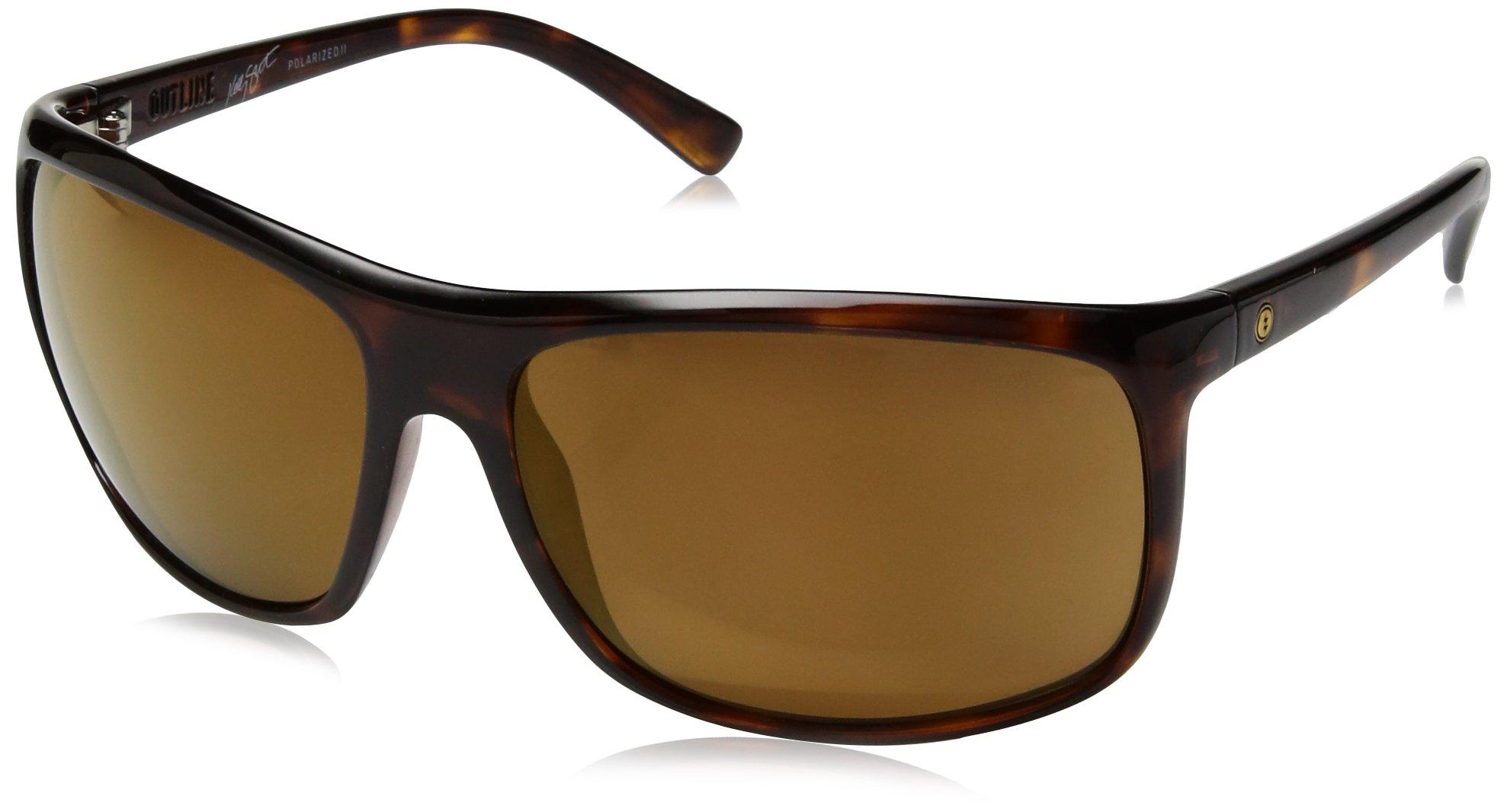 Electric Visual Outline Gloss Tortoise Polarized Sunglasses