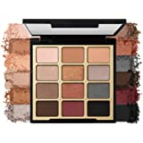 Milani Bold Obsessions Eyeshadow Palette (0.48 Ounce) 12 Cruelty-Free Jewel-Tone Matte & Metallic Eyeshadow Colors for…
