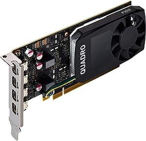 Dell Quadro P1000 Graphic Card - 4 GB GDDR5-4 x Mini DisplayPort - PC