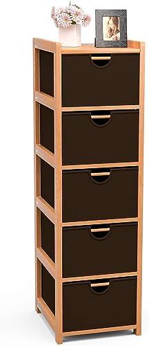 Mecor Fabric Dresser Storage Tower