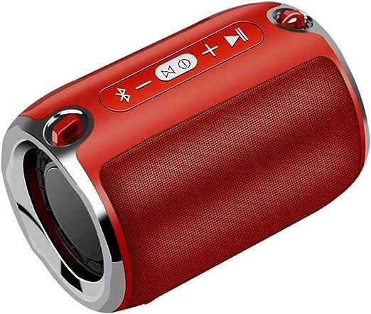 Lnyy Wireless Bluetooth Altavoz Subwoofer portátil Tarjeta Sonido: Amazon.es: Jardín