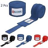 Xnature Hand Wraps Boxer Wraps 180 Boxing Hand Wraps Boxing Wraps Hand Wraps for Boxing Gloves Blue