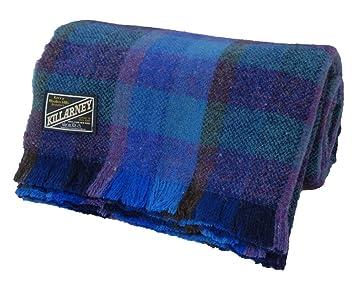 Amazon.com: Kerry Woollen Mills Killarney - Manta de lana ...