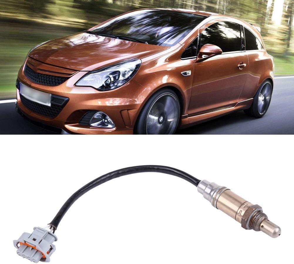 O2-Luft-Kraftstoff-Verh/ältnis f/ür Astra Combo Corsa Meriva Vectra 1.4-1.6L 0258005291 Qiilu Auto-Sauerstoffsensor