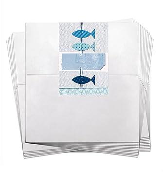 25 pequeñas bolsas de regalo; bolsas de papel blanco (13 x ...