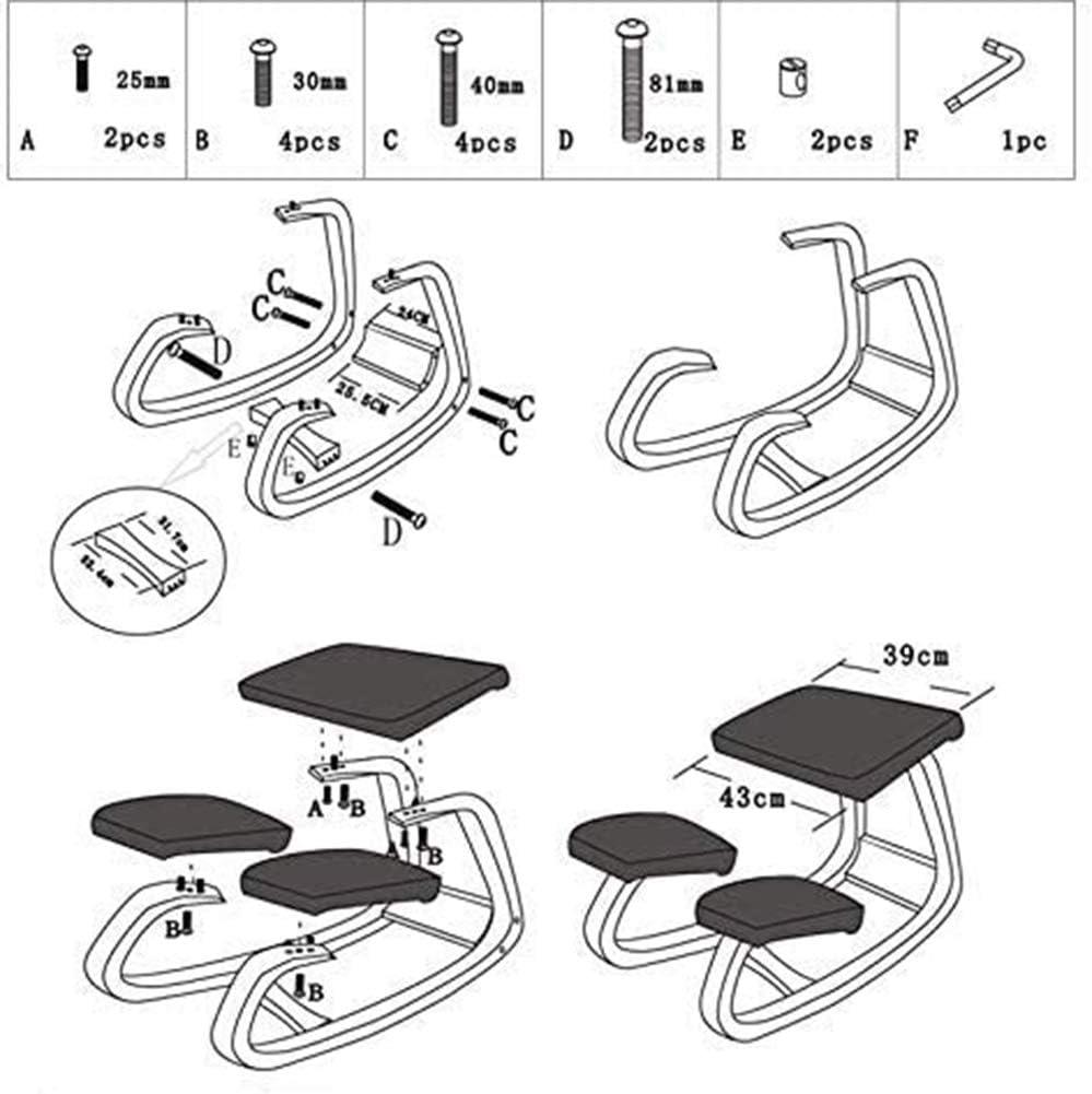 ZM-Shoes Chaise De Bureau avec Accoudoirs Pliables Fauteuil Ergonomique en Maille Respirante Siège avec Dossier Inclinable,Rouge Green