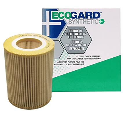 ECOGARD S5247 Cartridge Engine Oil Filter for Synthetic Oil - Premium  Replacement Fits BMW 325i, X5, 325Ci, X3, 330Ci, 528i, 530i, Z3, 328i,  525i,