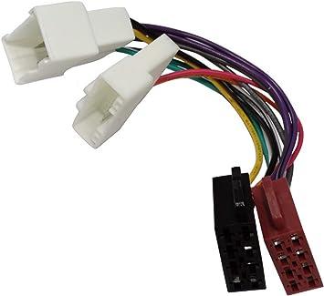 Aerzetix Iso Konverter Adapter Kabel Radioadapter Radio Kabel Stecker Iso Kabel Verbindungskab Auto