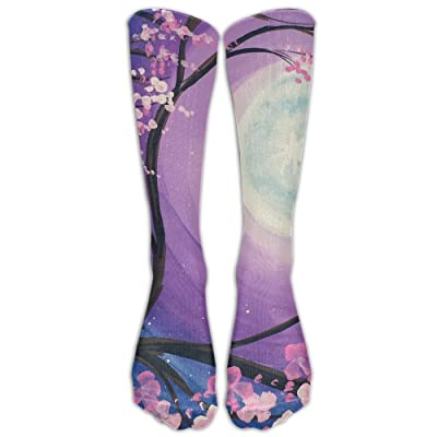 High Boots Crew Sky Printing Compression Socks Comfortable Long Dress For Men Women