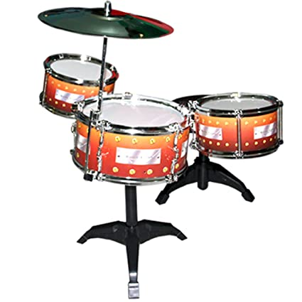 Buy 7 Pcs Drum Set Musical Band Instrument Playset Gift Kids Toys