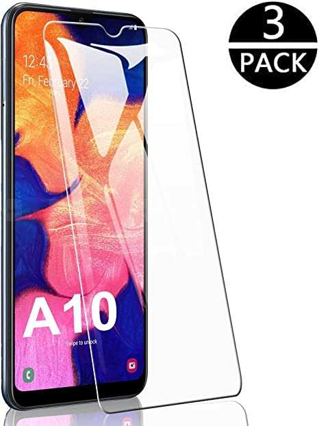 3-Pack Flysee Pellicola Vetro Temperato per Samsung Galaxy A40, Pellicola Protettiva per Samsung Galaxy A40 Custodia Compatible, Senza Bolle, HD Chiaro, 9H Durezza, Anti-Graffio