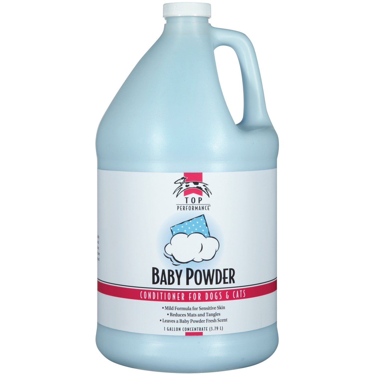 Top Performance Baby Powder Pet Conditioner, 1-Gallon by Top Performance