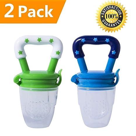 UPZHIJI - Comedero de silicona para bebés, chupete de frutas ...