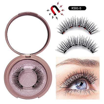 Amazon.com: Delineador de ojos magnético con pestañas ...