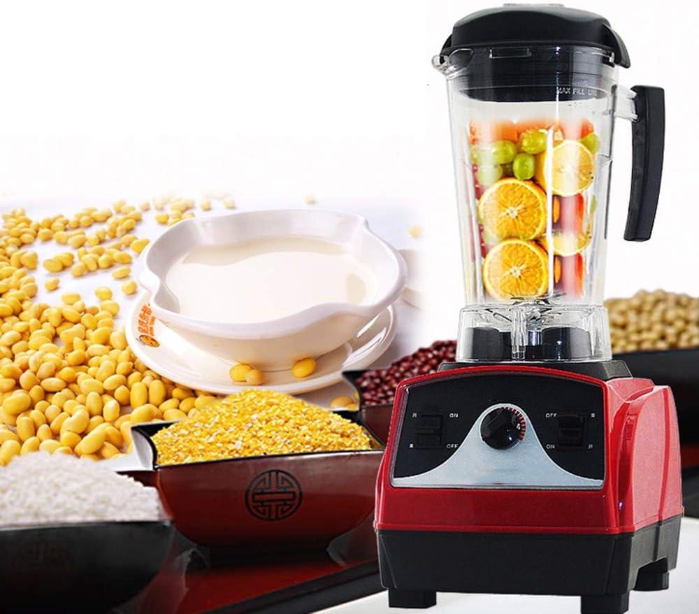 Cocineros Profesionales Sopa electrica Smoothie Maker Leche de Soja Caliente Fabricante con Salud Pared Rota Comida Maquina de cocinar Multifuncional, Red: Amazon.es