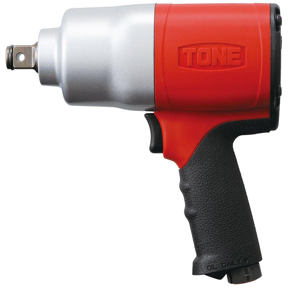 トネ(TONE) エアーインパクトレンチ AI6300 差込角19.0mm レッド 1600Nm B00762GG5I