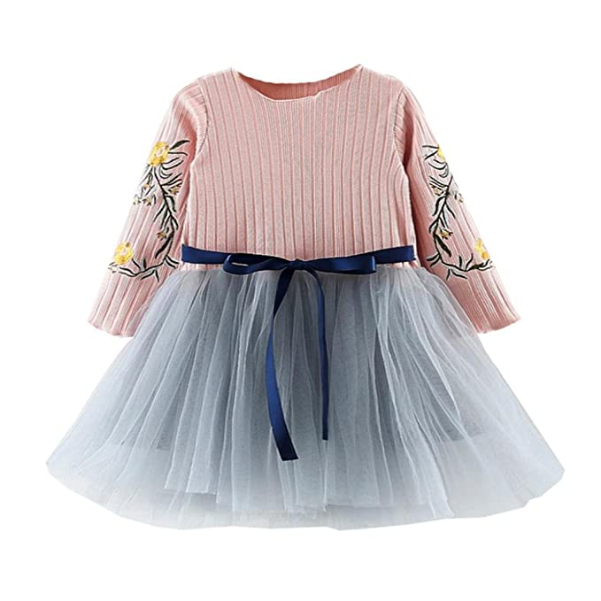 Vestido Bebe Niña, K-youth® Venta caliente 2018 Ropa Bebe Niña Vestido Bebe