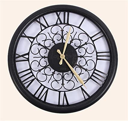 Hermoso reloj de pared de moda Circular salón del reloj de pared creativo del reloj de