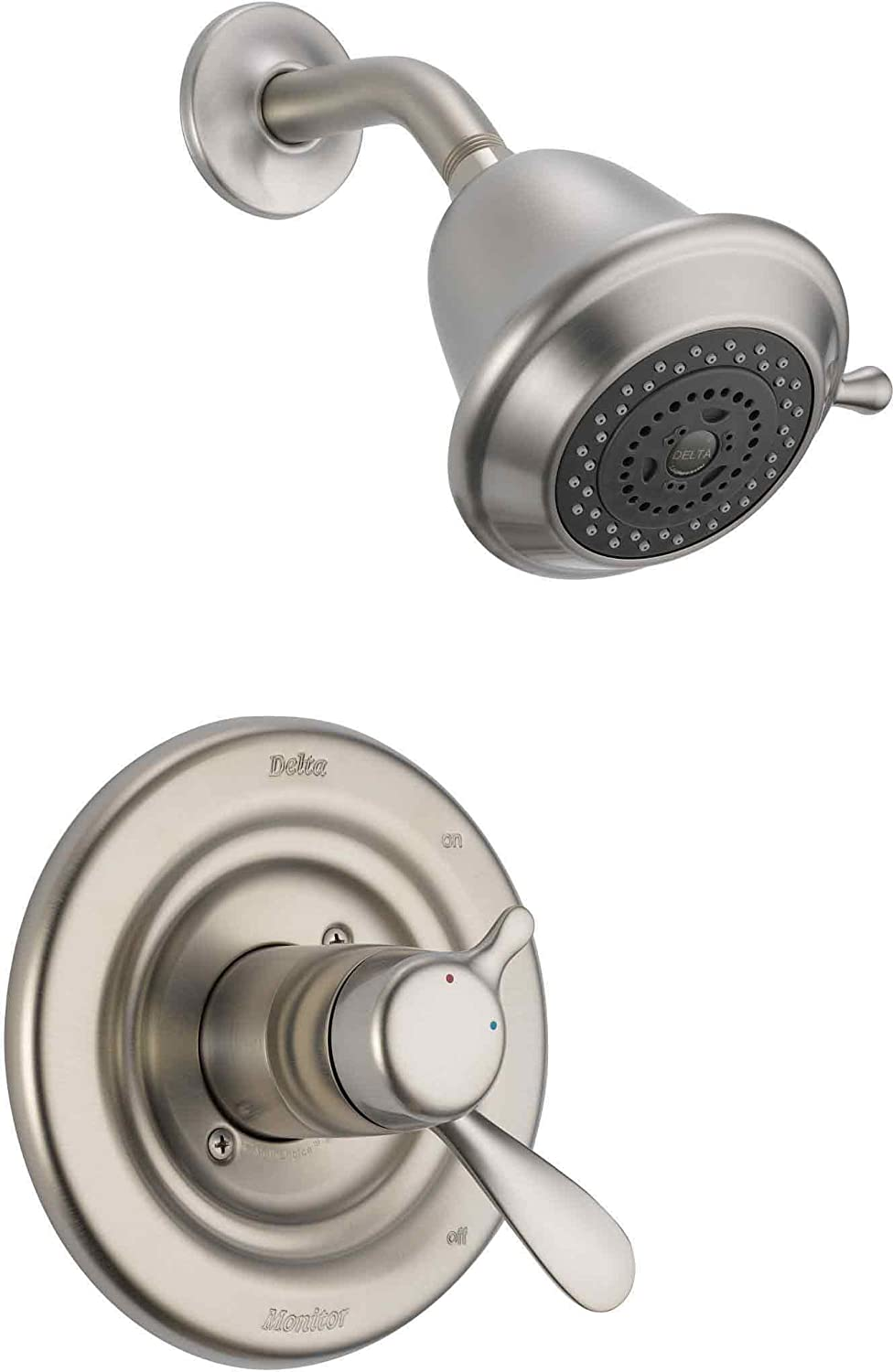 Delta Faucet T17230-SS Classic Monitor 17 Series Shower Trim ...