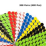 Best Wire Loop For Walls - Miracle Market 300 Pairs (600 pcs) of Colorful Review