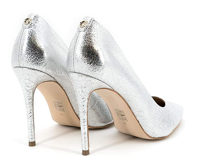 Guess Damen Pumps Silber Metallic FL6BN2LEL08 SIL:
