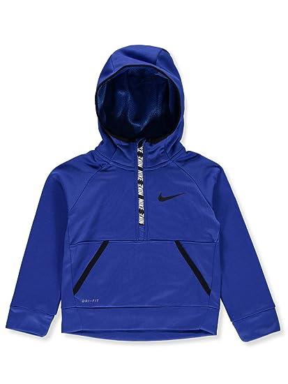 2ef74b82 Nike Kids Mens Therma 1/2 Zip Hoodie (Little Kids)