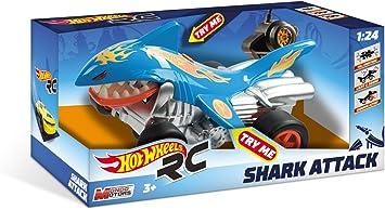 Mondo- Hot Wheels Shark Attack Macchina Radiocomandata