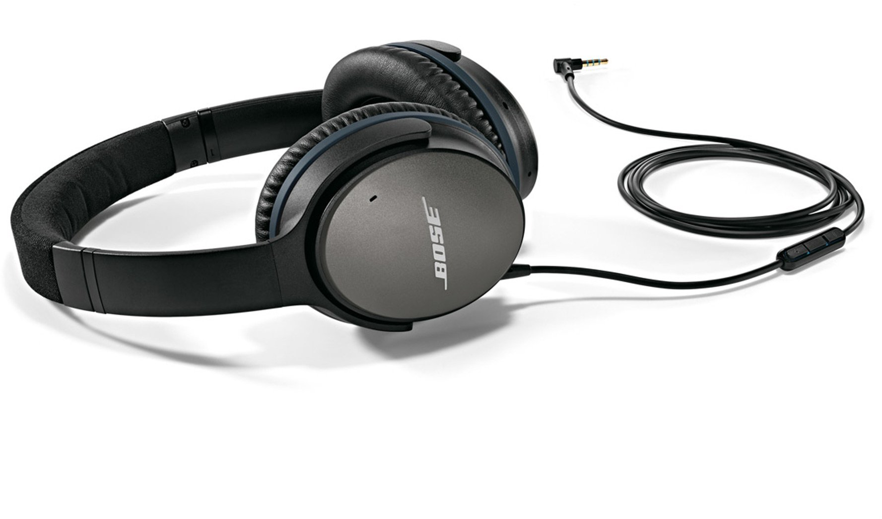 Bose QuietComfort 25 Acoustic Noise Cancelling Headphones for Apple devices - Black (wired, 3.5mm) by Bose (Image #14)