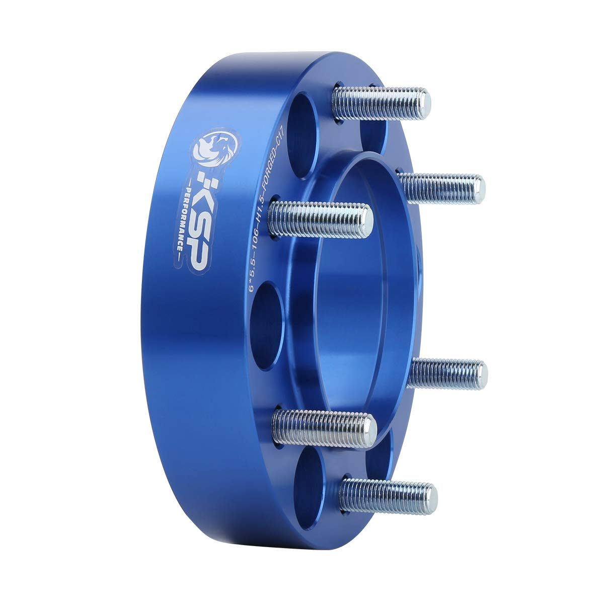 KSP 6X5.5 Wheel Spacers Fit for Tacoma 4runner B07DLX519N 1.5 inches Forged Hub Centric Adapters Kits fit 6 Lug Wheel 2 Years Warranty Package of 4
