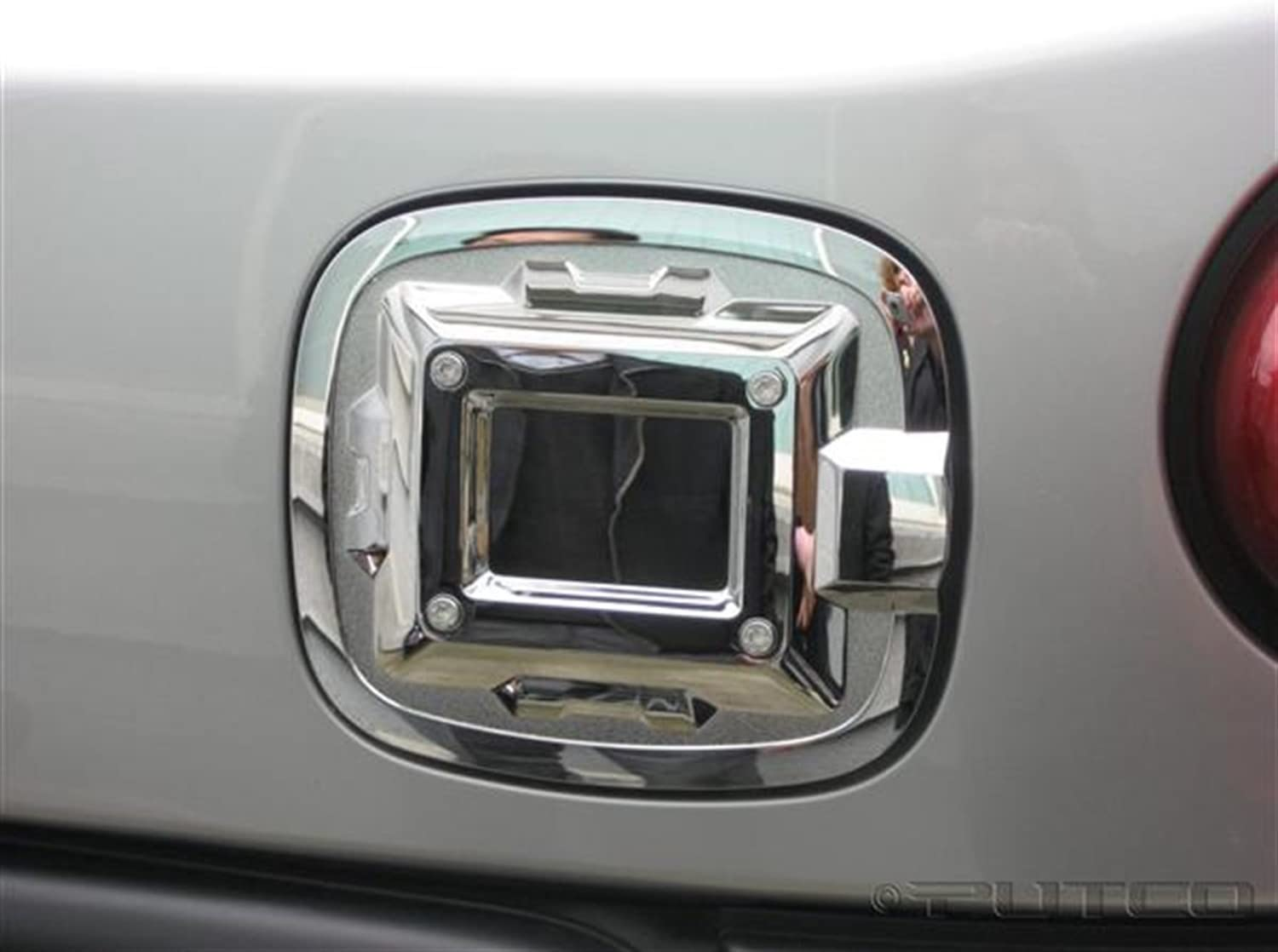 Putco 400937 Chrome Fuel Tank Door Cover for Select Toyota Models