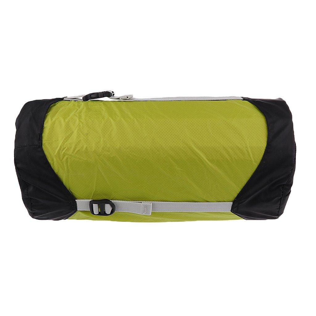 MagiDeal Kompressions Sack Leichter Schlafsack Beutel tragbar Outdoor Camping Schlafsack Tasche wasserdicht