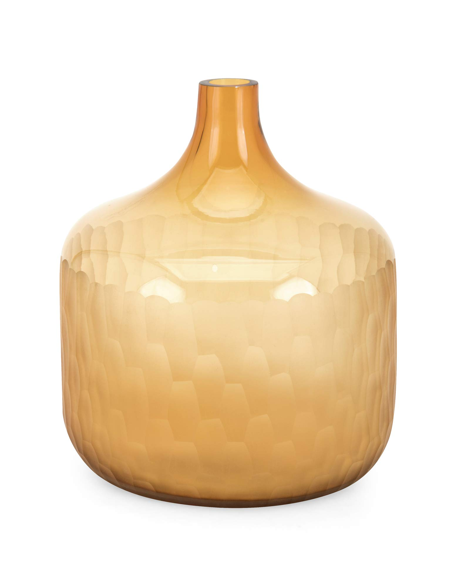 Imax 47971 Saffron Short Vases, Gold