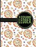 img - for 4 Column Ledger: Account Book, Accounting Journal Entry Book, Bookkeeping Ledger For Small Business, 8.5