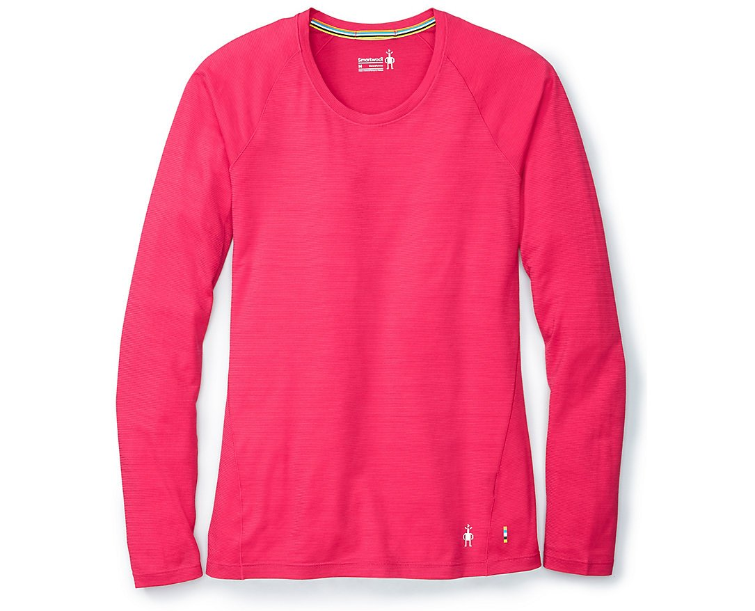 SmartWool Women's Merino 150 Baselayer Pattern Long Sleeve (Potion Pink) X-Small